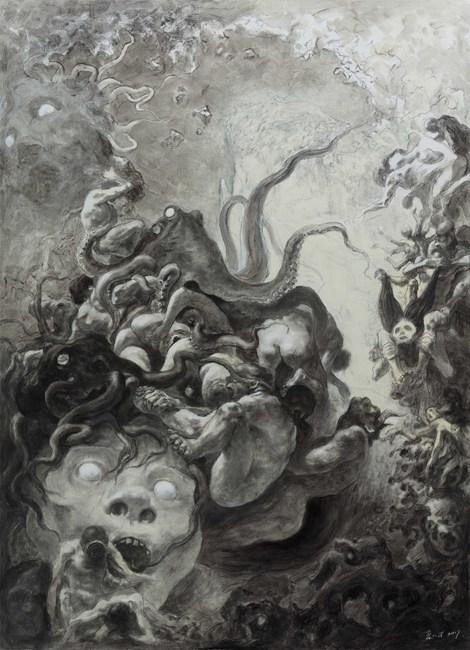 Medusa 美杜莎 by Xia Xiaowan contemporary artwork