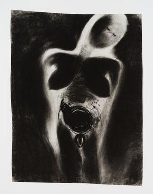 o.t., detail by Miriam Cahn contemporary artwork