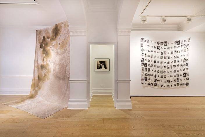 Exhibition view: Group Exhibition, Part 2: Maternality, Richard Saltoun Gallery, London (10 January–15 February 2020). Courtesy Richard Saltoun Gallery.