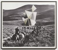 Retired Form by David Maljkovic contemporary artwork works on paper