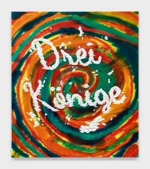 Untitled (Drei Könige) by Joel Mesler contemporary artwork painting