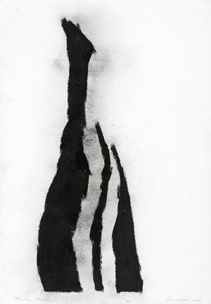 Three Stripes by David Nash contemporary artwork