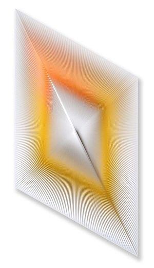 Dinamica ottico-visiva by Alberto Biasi contemporary artwork