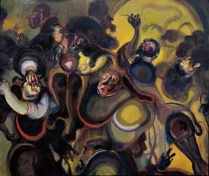 Pilgrim Progression by Alvin Ong contemporary artwork