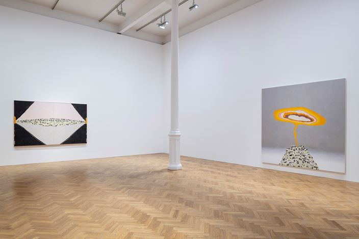 Exhibition view: William Monk, A Fool Through the Cloud, Pace Gallery, London (6 March–10 April 2019). Courtesy Pace Gallery.
