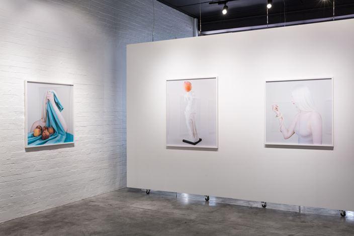 Exhibition view: Petrina Hicks, Still Life Studio, THIS IS NO FANTASY dianne tanzer + nicola stein (2–20 October 2018). Courtesy THIS IS NO FANTASY dianne tanzer + nicola stein.