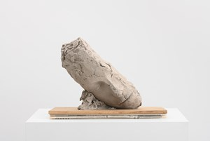 Study for Large Tilted Head by Mark Manders contemporary artwork