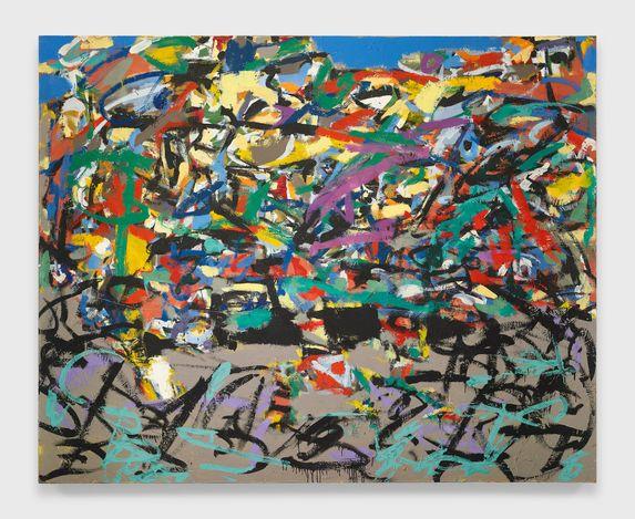 Arthur Monroe  Untitled, (2003). Oil on canvas. 77 x 96 inches. Courtesy Malin Gallery.