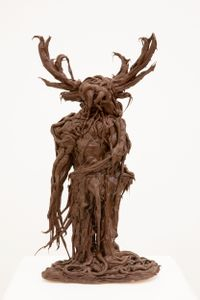 Green Man by Lois Weinberger contemporary artwork sculpture