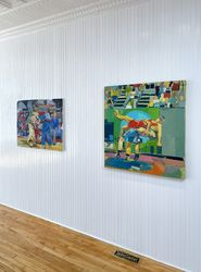 Exhibition view: Group Exhibition,Game On!, Hollis Taggart, Southport (9 September–30 October 2021). Courtesy Hollis Taggart.
