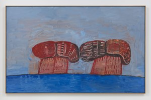 Shoe Head by Philip Guston contemporary artwork