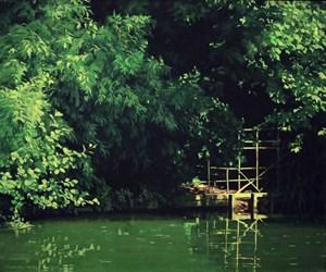 La vue retiré dan une valée 綠陰深處 by Chen Jianzhong contemporary artwork