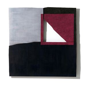 Magenta Square by Young-Rim Lee contemporary artwork