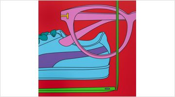 Contemporary art exhibition, Michael Craig-Martin, All Things Considered at Reflex Amsterdam