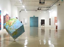 "Group Exhibition<br><em>GENSET</em><br><span class=""oc-gallery"">Gajah Gallery</span>"