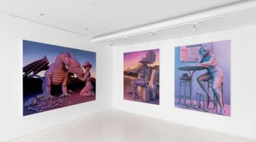 Contemporary art exhibition, Emma Stern, Boy, It Feels Good To Be A Cowgirl at Almine Rech, Rue de Turenne, Paris, France