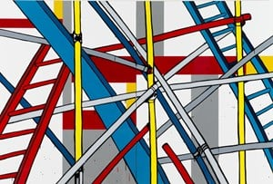 Chutes and Ladders by Jasper Knight contemporary artwork