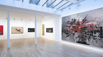 Contemporary art exhibition, Georges Mathieu, Les années 1960–1970 at Templon, 30 rue Beaubourg, Paris, France