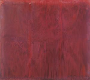 Red Mist by Dona Nelson contemporary artwork