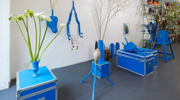 Contemporary art exhibition, Frank Bruggeman, How to do the FLOWERS at Brutto Gusto, Berlin