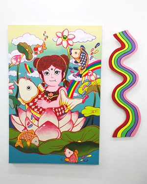 The Girl of the Fortune by Yuree Kensaku contemporary artwork
