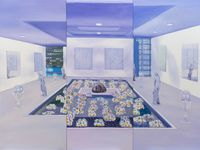 Home Sweet Home: Feng Shui Painting, Metal 1 by Mak Ying Tung 2 contemporary artwork painting