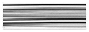 Horizontal Vibration by Bridget Riley contemporary artwork