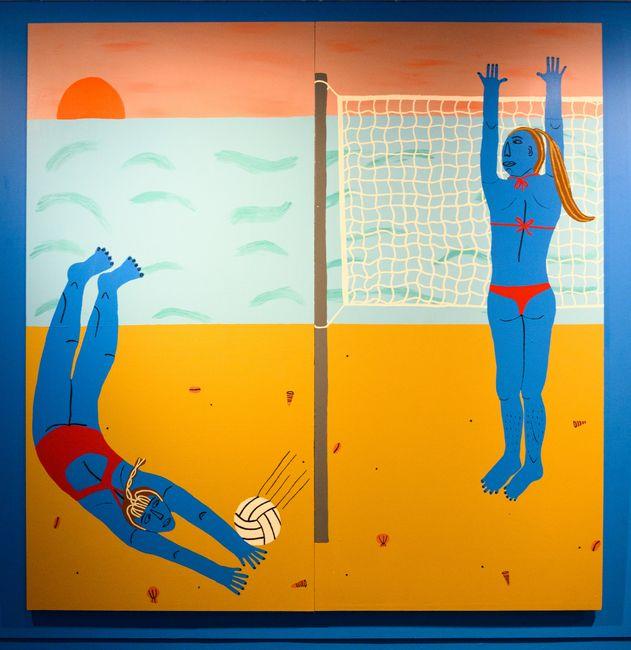 Volleyball by Claudia Kogachi contemporary artwork