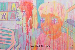 YOU STINK LIKE A TOFU by Yeo Kaa contemporary artwork