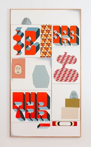 Untitled by Barry McGee contemporary artwork painting