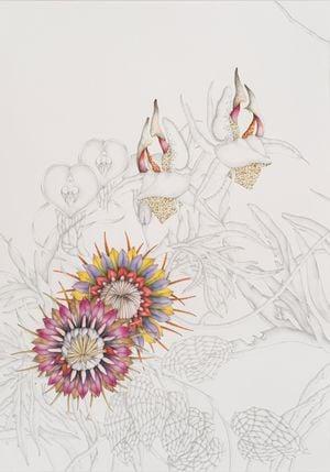 Perpetuum florens (V) by Miron Schmückle contemporary artwork