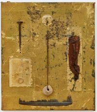 Untitled (Comb) by Derek Jarman contemporary artwork painting