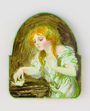 L'oiseau mort (d'après Jean-Baptiste Greuze, vers 1800) by Tursic & Mille contemporary artwork