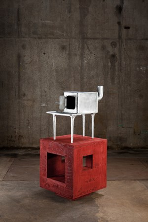 Happy Industry Stove by Atelier Van Lieshout contemporary artwork