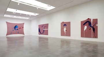 Contemporary art exhibition, Julian Schnabel, The Sad Lament of the Brave, Let the Wind Speak and Other Paintings at Pace Gallery, New York