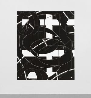 Volta X by Al Held contemporary artwork