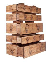 Double Happiness Cabinet by Enrico Marone Cinzano contemporary artwork mixed media
