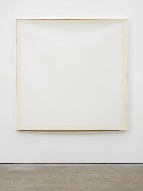 Bare (Off-White) by Angela De La Cruz contemporary artwork