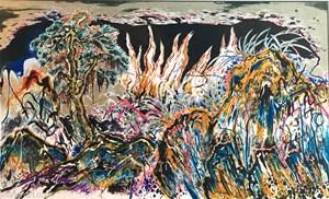 Endopsychic Fire by Sun Xun contemporary artwork