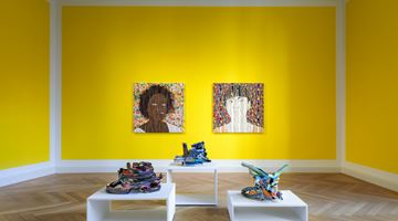 Contemporary art exhibition, Ghada Amer, The women I know at KEWENIG, Berlin
