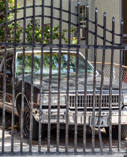 Car in Little Haiti by Anastasia Samoylova contemporary artwork