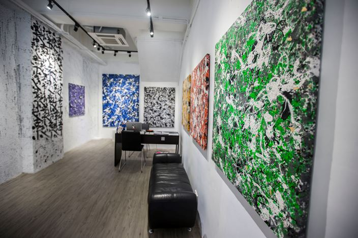 Exhibition view: Danhôo, Psynaps, A2Z Art Gallery, Hong Kong (5–29 July 2018). Courtesy A2Z Gallery.