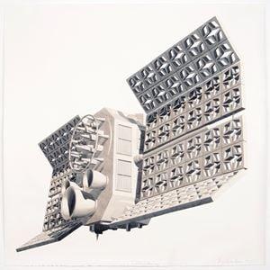Satélite de Hormigón by Dagoberto Rodríguez contemporary artwork