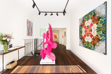 Contemporary art exhibition, Group Exhibition, The Hour Forever at Dellasposa Gallery, London, United Kingdom