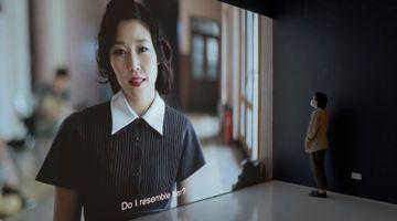 Contemporary art exhibition, Zhu Jia, Lin Aojie, Chen Xiaoyun, Liang Yue, Shifting Times, Moving Images at ShanghART, Singapore