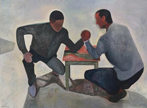 Arm Wrestling by Xiao Jiang contemporary artwork