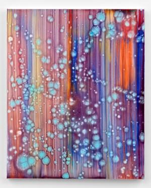 Okaki by Bernard Frize contemporary artwork