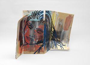 La Géante by Ghada Amer contemporary artwork