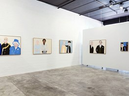 "Vincent Namatjira<br><em>Solo Exhibition</em><br><span class=""oc-gallery"">This Is No Fantasy dianne tanzer + nicola stein</span>"