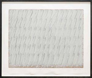 Ecriture No. 11-80 by Park Seo-Bo contemporary artwork
